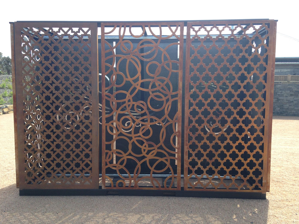 decorative privacy screens gh sheetmetal. Black Bedroom Furniture Sets. Home Design Ideas